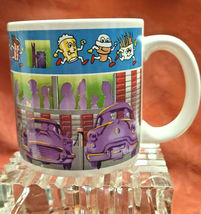 "Standing Ovations Vintage Coffee Mug 1988 ""Snack Time at the Drive In"" Cup NOS image 3"