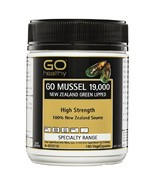 GO Healthy GO Mussel 19,000 New Zealand Green Lipped VegeCapsules 180 Pack - $126.99