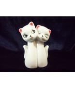 Cat Kitty Kitten Feline Mom and Baby Porcelain Figurine Vintage  - $14.84