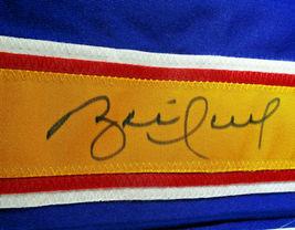 BRETT HULL / NHL H. O. F. / AUTOGRAPHED ST. LOUIS BLUES CUSTOM JERSEY / BECKETT image 5