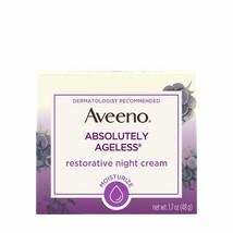 Aveeno Absolutely Ageless Restorative Night Cream Facial Moisturizer with - $32.50