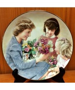 Flowers For Diana Commemorative Plate - Danbury Mint Limited Edition 1988 - $8.95