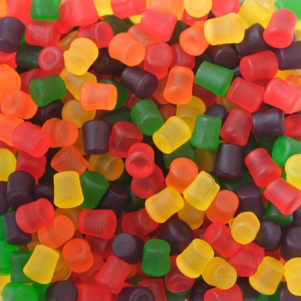 Primary image for Jujubes Gummy Candy 5 LBs Chewy Assorted candies