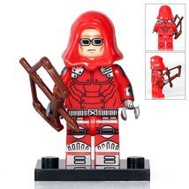 Red Arrow Lego Toys Superhero Minifigure - $3.25