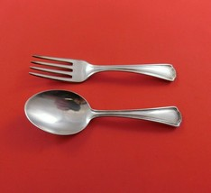 Clovelly by Reed and Barton Sterling Silver Baby Set 2-Piece Fork Spoon ... - $109.00