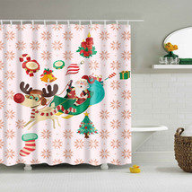 Christmas Decor Eco-friendly Polyester Fabric 180*180cm & 150*180cm Size Modern  - $29.78