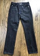 Vtg Guess Jeans Mens Classic Straight Leg Denim Jeans Size 31 x 32 - $28.93