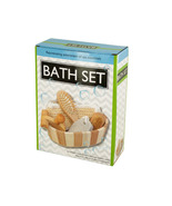 Essential Bath Set in Wooden Basket  - $21.99