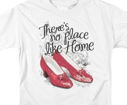 The Wizard of Oz t-shirt No Place Like Home ruby slippers graphic tee OZ109 image 2