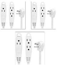 BindMaster 12 Feet Extension Cord/Wire, 3 Prong Grounded, 3 outlets, Fla... - $37.17