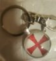 Knights Templar P1:  Necklace - Key Chain - Lapel Pin -  Battle Flag  3' x 5'   image 4