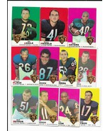 1969 Topps Chicago Bears Team Set with Bryan Piccolo, Gale Sayers, Dick ... - $75.80