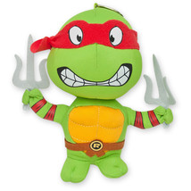 Teenage Mutant Ninja Turtles Raphael Plush Doll Keychain Green - $14.98