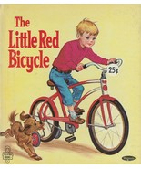 The Little Red Bicycle by Dorothy Urfer King 1953 Whitman Tell a Tale Bo... - $9.89