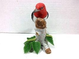 THE LENOX GARDEN BIRD COLLECTION Red Headed Woodpecker (Fine Porcelain 1999) image 5