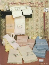 Country Crafts Pat Waters MORE POWDER ROOM PASTELS Leaflet 113 Cross Stitch - $4.99