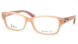 New Christian Dior CD3259 6ZF Beige Eyeglasses Frame 52-14-140mm Italy - $151.89