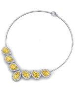 4.0Ct/VSI2/F Round Cut Diamond Classic Necklace... - $6,200.00