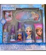 Disney Frozen Spa Set w/ Satin Eye Mask & Body Mist Winter Berry Scented 7 Piece - $13.99