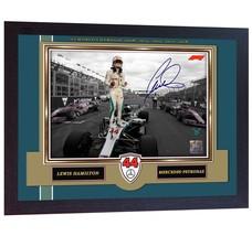 2018 New Formula 1 World Champion Lewis Hamilton signed autograph print ... - $20.56