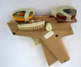 Vintage DYMO LABEL MAKER ~ Tested Working - Free Shipping  BROWN Used  - $23.12 CAD