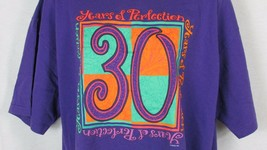 30 Years of Perfection 30th birthday age t shirt top XL Men Women unisex... - $9.89