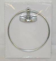 Baypointe 623985 Metal Hand Towel Ring Bright Chrome Finish image 2