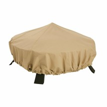 Outdoor Backyard Fireplace Round Patio Heater Firepit Cover 44 Inches Di... - $32.68