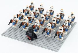 21pcs Orange Utapau Clone Troopers & Darth Vader  Star Wars Mini Figures Blocks - $29.95