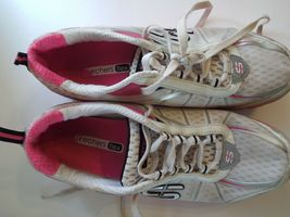 Skechers Flex 8 Women Sneakers Pink and White image 5