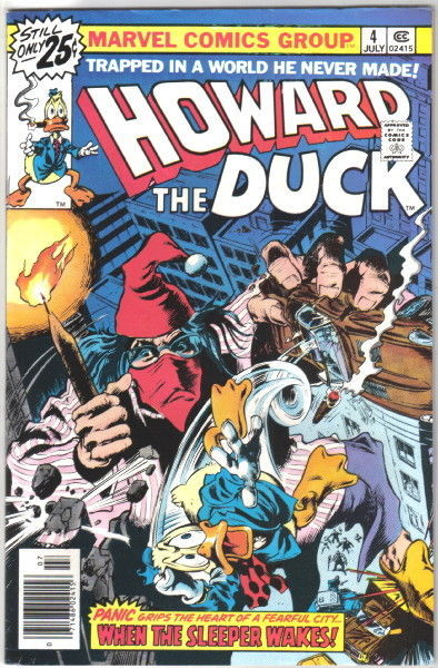 Primary image for Howard the Duck Comic Book #4 Marvel Comics 1976 FINE-