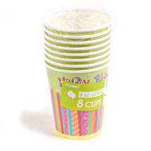 9Oz Happy Birthday Cup, Case of 288 - $74.25