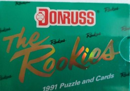 1991 Donruss THE ROOKIES Box Plus A FREE 1989 pack of Topps Baseball Cards - $21.77