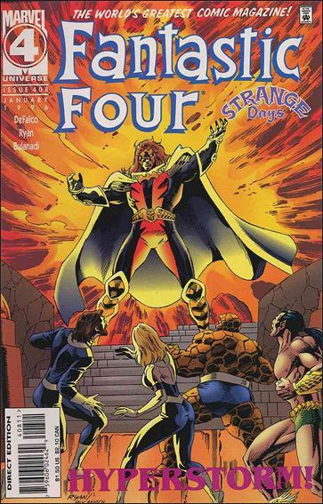 Marvel FANTASTIC FOUR (1961 Series) #408 VF