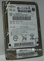 """NEW MHS2040AT Fujitsu 40GB 2.5"""" IDE 44PIN 9.5mm Hard Drive Free USA Shipping"""