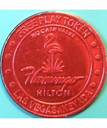 NCV Free Play Casino Token. Flamingo Hilton, Las Vegas, NV. J48. - $2.85