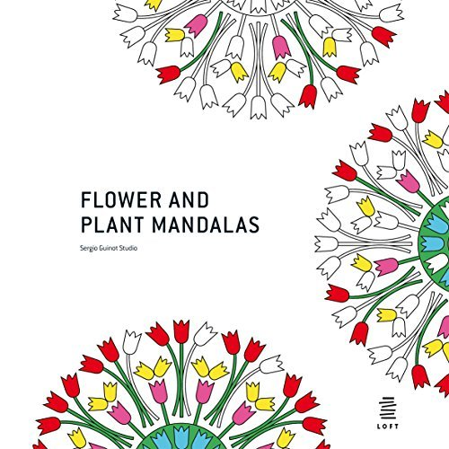 Flower and Plant Mandalas: Coloring Book Guinot, Sergio