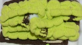 Mudpie Ruffle Socks Leggings Zebra Stripes Zero To Six Months image 3