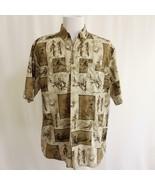 Field & Stream Pheasant Hunting Mens Short Sleeve Shirt Sz L - $24.09