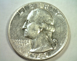 1940 WASHINGTON QUARTER ABOUT UNCIRCULATED AU NICE ORIGINAL COIN BOBS COINS - $14.00