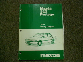 1993 mazda 323 protege electric diagram service repair shop manual x - $94.79
