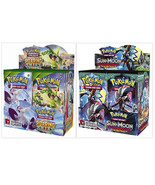 Pokemon TCG Roaring Skies + Guardians Rising Booster Boxes Sealed Sun & ... - $209.99