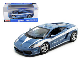 Lamborghini Gallardo LP 560-4 Police 1/24 Diecast Model Car by Maisto - $50.99