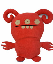 "Uglydoll Plush Turny Burny 15"" 2 Sided Ugly Doll Red & Blue Soft Stuffed... - $14.99"