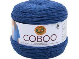 Lion Brand Coboo Yarn, Steel Blue - $6.99