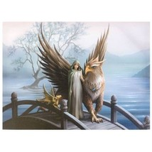 Nemesis Now: Realm Of Tranquility Canvas on Wood Frame by Anne Stokes  2... - €26,47 EUR