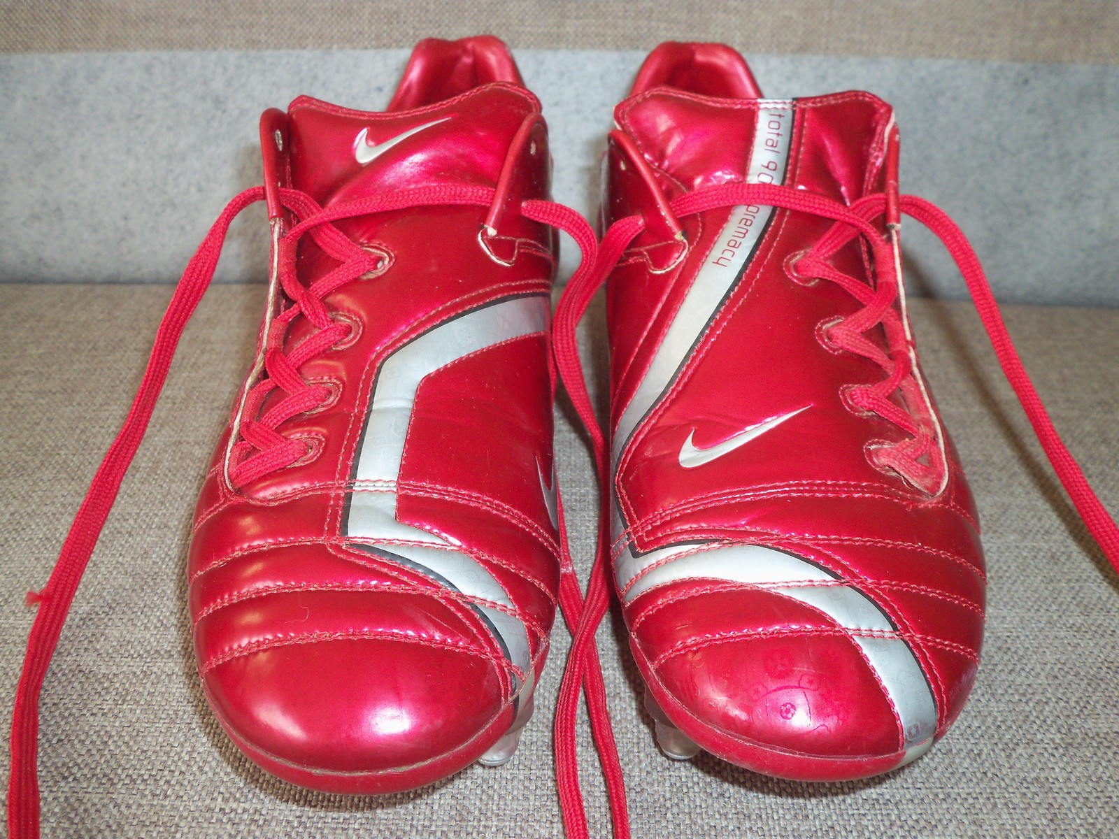 2ec507d351a7 ... uk nike air zoom total 90 supremacy sg uk 7.5 us 8.5 football boots  soccer cleats