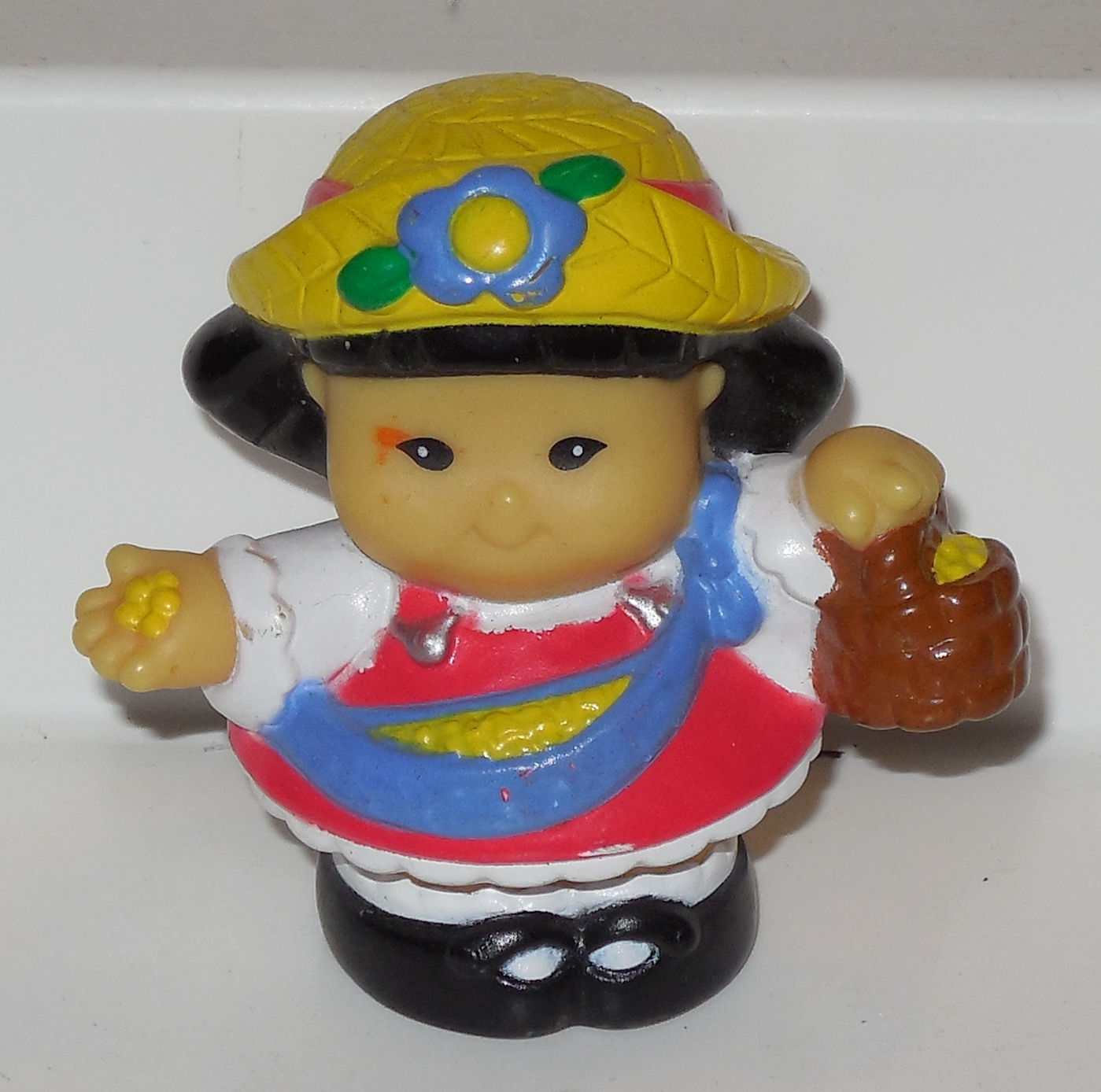 Fisher Price Current Little People Girl FPLP #1