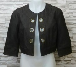 New York Clothing Co. womens jacket cropped blazer nycc career size s K - $13.99