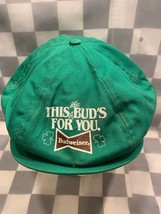 Vintage Budweiser Este Capullos For You Irlandés Conductor Papelero Adul... - $16.62